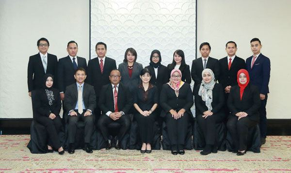 """Course on """"Protocol and Etiquette"""" for Indonesia State Secretariat (SETNEG) 28 November to 2 December 2016"""
