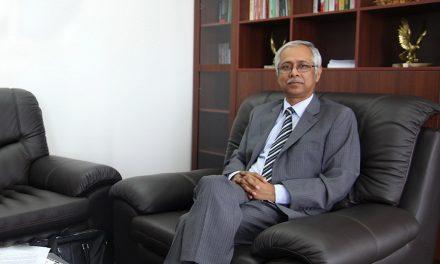 HE Mustafizur Rahman  High Commissioner of Bangladesh