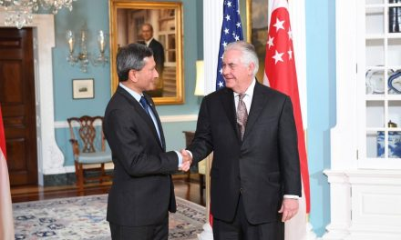 Secretary Tillerson Meets With Singaporean Foreign Minister Balakrishnan