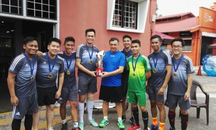 Foreign Affairs Cup: Fought with Heart & Passion!