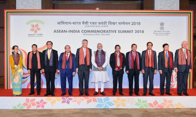 ASEAN-India Commemorative Summit's Delhi Declaration Marks 25th Anniversary of ASEAN-India Dialogue Relations