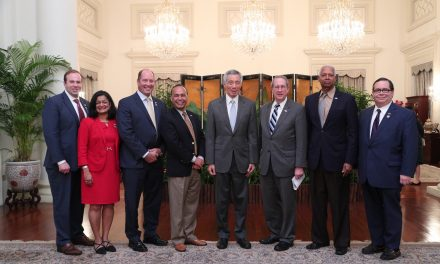 Bob Goodlatte, Chairman US House Judiciary Committee Leads US Congressional Delegation to Singapore