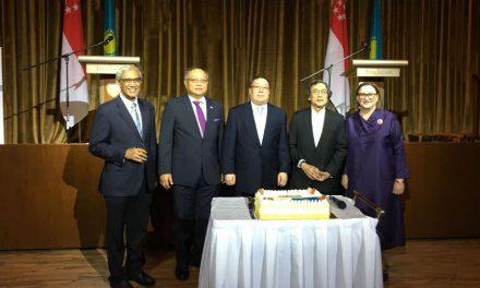 Kazakhstan Commemorates 25th YearAnniversary of Diplomatic Ties with Singapore