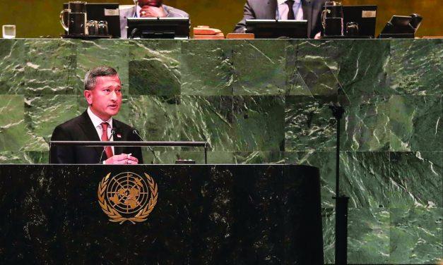 73rd UNGA: Singapore's  Perspective