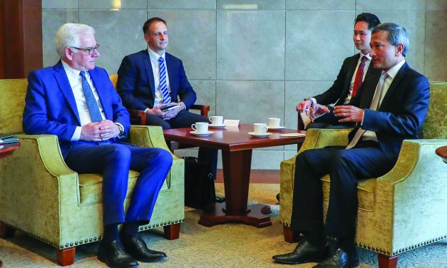 Visit Marked 50th Anniversary of  Polish and Singapore Diplomatic Ties