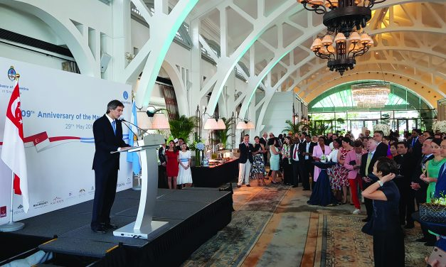 Argentina's 209th Anniversary of the May Revolution – 29th May 2019 at Fullerton Bay Hotel, The Clifford Pier