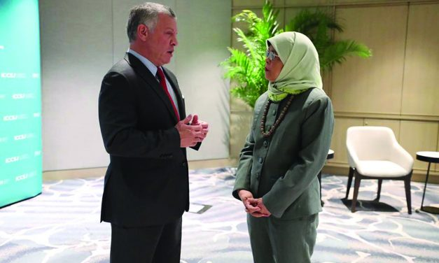King Abdullah Delivered Keynote Address at Singapore's First ICCS