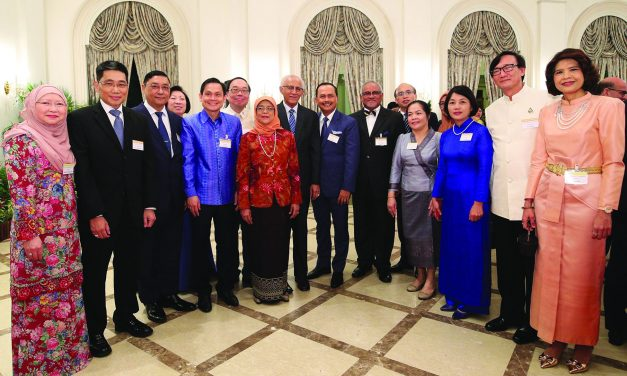 PRESIDENT'S ANNUAL DIPLOMATIC RECEPTION