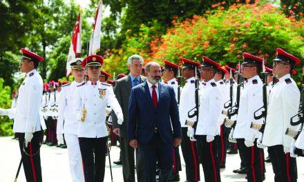 OFIICIAL VISIT (JULY): Armenia's Prime Minister Pashinyan