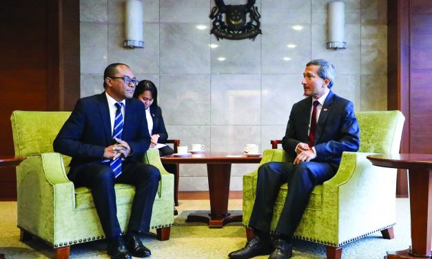 Official Visit (July): Timor Leste Foreign Minister Soares