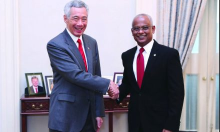 State Visit (July): Maldives President Ibrahim Mohammed Solih Signed Open Air Agreement