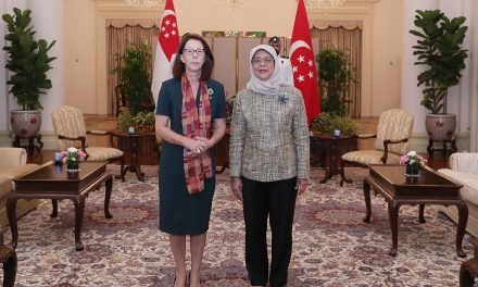 Presentation of Credentials: H.E. Eugenia Barthelmess