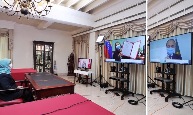 Historic first – Presentation of Credentials via video conference