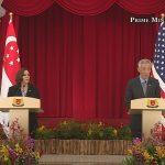 US VP Kamala Harris Visit to Singapore